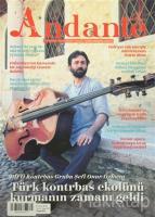 Andante Müzik Dergisi Sayı: 107 Yıl: 12 Eylül 2015