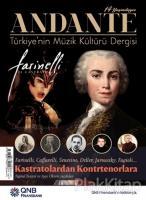 Andante Müzik Dergisi Sayı: 127 Yıl: 14 Mayıs 2017
