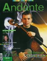 Andante Müzik Dergisi Sayı: 3 Şubat-Mart 2003