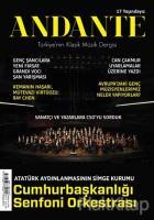 Andante Müzik Dergisi Yıl: 17 Sayı: 158 Aralık 2019