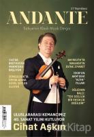 Andante Müzik Dergisi Yıl: 17 Sayı: 159 Ocak 2020