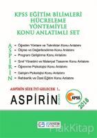Aspirin Bilgiler 2018 KPSS Eğitim Bilimleri Hücreleme Yöntemiyle Konu Anlatımlı Set