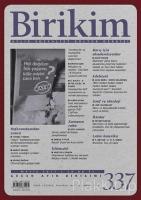 Birikim Aylık Sosyalist Kültür Dergisi Sayı: 337 Mayıs 2017