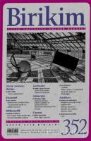 Birikim Aylık Sosyalist Kültür Dergisi Sayı: 352 Ağustos 2018
