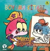 Boyama Kitabı 5 - Maceracı Yüzgeçler Biba'nın Günlüğü (Ciltli)