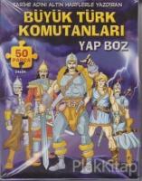 Büyük Türk Komutanları Yap Boz 50 Parça Puzzle