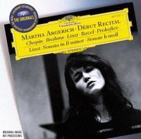 Debut Recital Chopin Brahms Liszt (CD)