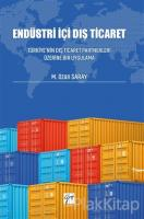 Endüstri İçi Dış Ticaret