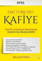 Eski Türk Dili Kafiye Türk Dili ve Edebiyat Öğretmenliği Çözümlü Soru Bankası 2020