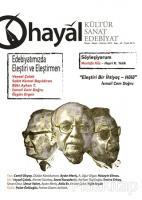 Hayal Kültür Sanat ve Edebiyat Dergisi Sayı: 69 (Nisan-Mayıs-Haziran) 2019