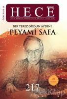 Hece Aylık Edebiyat Dergisi Peyami Safa Özel Sayısı Sayı: 29 / 217 (Ciltli)
