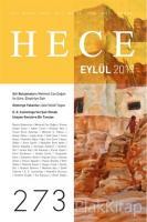 Hece Aylık Edebiyat Dergisi Sayı: 273 Eylül 2019