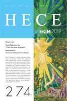 Hece Aylık Edebiyat Dergisi Sayı: 274 Ekim 2019