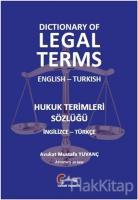 Hukuk Terimleri Sözlüğü (İngilizce-Türkçe) (Ciltli)