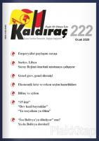 Kaldıraç Dergisi Sayı: 222 Ocak 2020