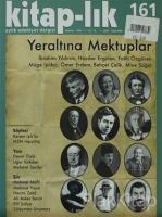 Kitap-lık Sayı: 161 Aylık Edebiyat Dergisi