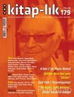 Kitap-lık Sayı: 179 Aylık Edebiyat Dergisi