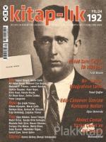 Kitap-lık Sayı: 192 İki Aylık Edebiyat Dergisi Temmuz - Ağustos 2017