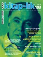 Kitap-lık Sayı: 193 İki Aylık Edebiyat Dergisi Eylül - Ekim 2017