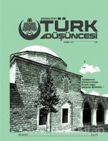 Maziden Atiye Türk Düşüncesi Dergisi Sayı: 4 Sonbahar 2019