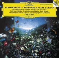 Mendelssohn: Midsummer Night's Dream (CD)