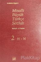 Misalli Büyük Türkçe Sözlük 2. Cilt (Ciltli)