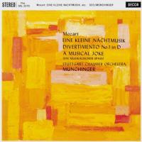 Eine Kleine Nachtmusik / Divertimento No. 1 In D (A Musical Joke) (Plak)