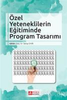 Özel Yeteneklilerin Eğitiminde Program Tasarımı