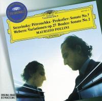 Stravinsky: Petrouchka, Prokofiev: Sonate No.7 (CD)