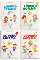 Süper Boyama (4 Kitap Takım)