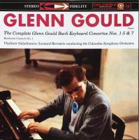 The Complete Glenn Gould Bach Keyboard Concertos Nos. 1-5 & 7 / Beethoven Concerto No. 1 (3 Plak)