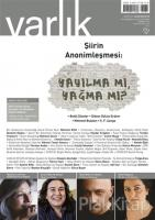 Varlık Aylık Edebiyat ve Kültür Dergisi Sayı: 1293 - Haziran 2015