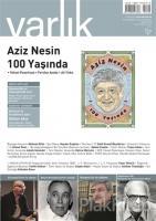 Varlık Aylık Edebiyat ve Kültür Dergisi Sayı : 1299 -  Aralık 2015
