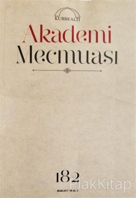 Akademi Mecmuası Sayı: 182