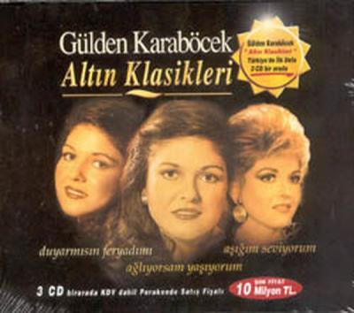 Gülden Karaböcek Altın Klasikleri (3 CD)