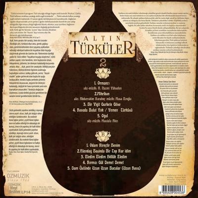 Altın Türküler 2 (Plak) Kıvırcık Ali