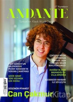 Andante Müzik Dergisi Yıl: 17 Sayı: 156 Ekim 2019 Kolektif
