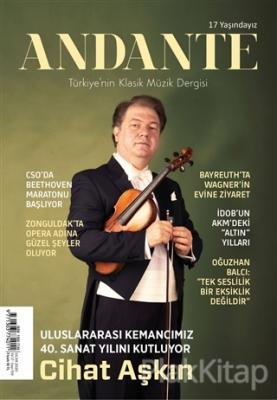 Andante Müzik Dergisi Yıl: 17 Sayı: 159 Ocak 2020 Kolektif