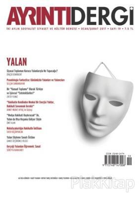 Ayrıntı Dergisi Sayı : 19 Ocak/Şubat 2017 Kolektif