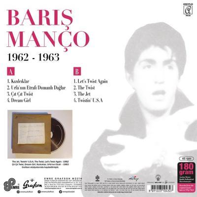 Barış Manço 1962 - 1963 (Plak) %10 indirimli Barış Manço