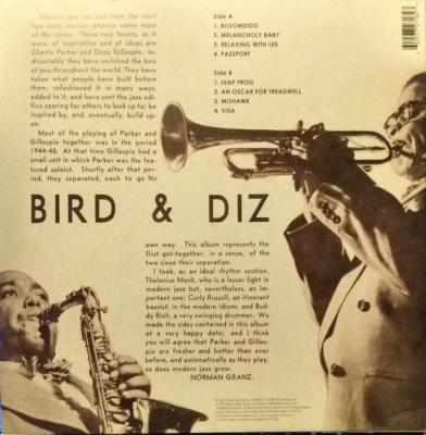Bird and Diz (Plak) Charlie Parker