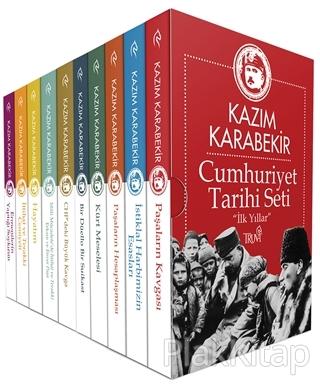 Cumhuriyet Tarihi Seti - İlk Yıllar (10 Kitap Lüx Kutulu)
