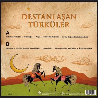 Destanlaşan Türküler (Plak) Çeşitli Sanatçılar