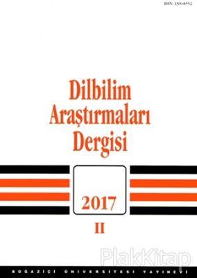 Dilbilim Araştırmaları Dergisi 2017 - 2 Kolektif