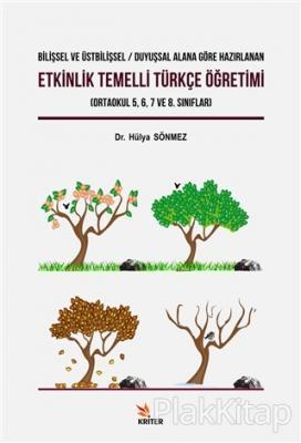 Etkinlik Temelli Türkçe Öğretimi