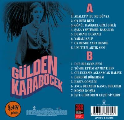 Gülden Karaböcek (1971 - 1973 Orjinal Kayıtları) (Plak) Gülden Karaböc