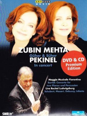 Güher & Süher Pekinel In Concert with Zubin Mehta (DVD+CD)