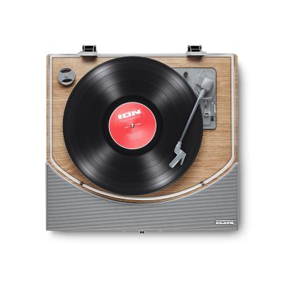 ION PREMIER LP Bluetooth – Hoparlörlü Ahşap Pikap