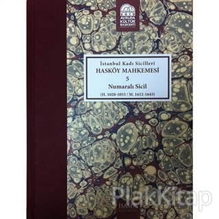 İstanbul Kadı Sicilleri - Hasköy Mahkemesi 5 Numaralı Sicil Cilt 23 (Ciltli)