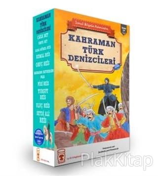 Kahraman Türk Denizcileri Seti (10 Kitap Takım)